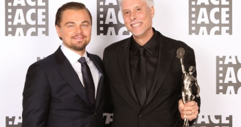 Leonardo DiCaprio with Christopher Rouse, A.C.E. (Winner – Bes