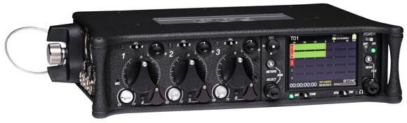 Sound Devices 633 - front panel