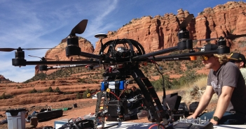 On location with Aerial MOB