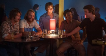 Dale Douglas, Wyatt Russell, Glen Powell, Blake Jenner, Temple Baker and J. Quinton Johnson