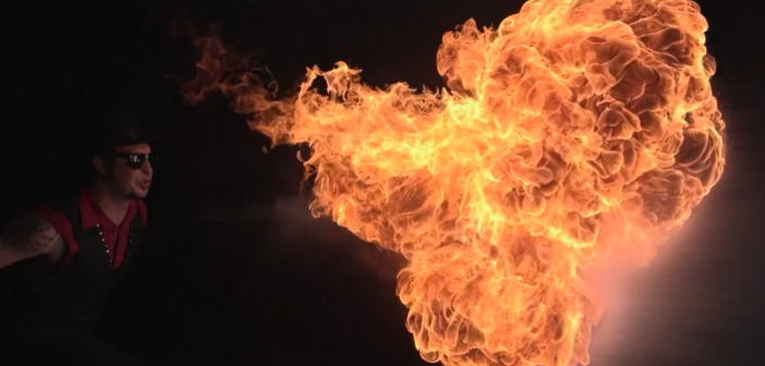 "Video: Hive Lighting's ""Fire Breather"""