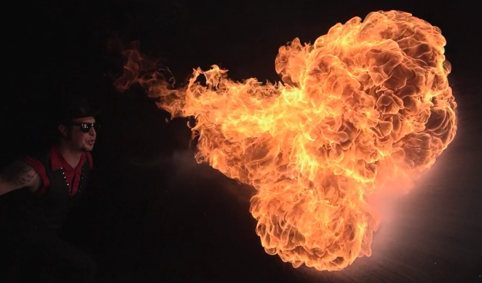 Fire Breather on Vimeo