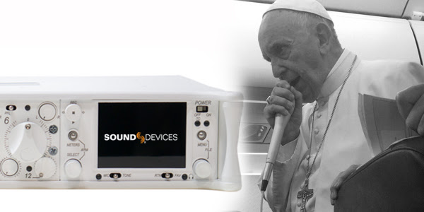 Vatican Television Center Selects Sound Devices as Preferred Audio Partner