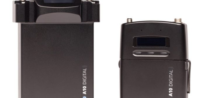 Audio Limited A10 Digital Wireless Microphone System Now Shipping