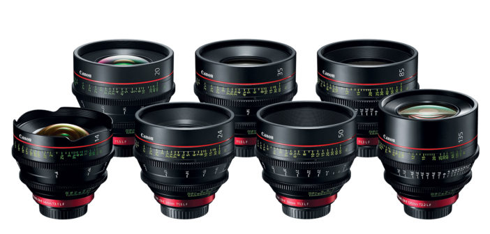 Canon Expands EF Cinema Lens Lineup with New 20mm Prime Lens for 4K Cameras