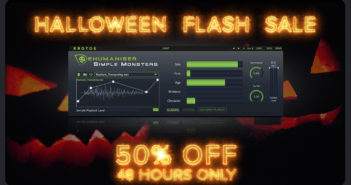 Krotos Announces Halloween Flash Sale and Video Tutorials