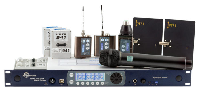 Lectrosonics Venue2 Receiver System Now Available in 941-960 MHz Band