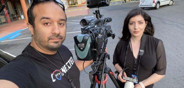 Teradek Cube Streams News to the California Bread Basket for @centralvalleytv