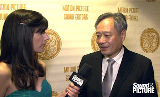 MPSE Awards 2013 - Ang Lee