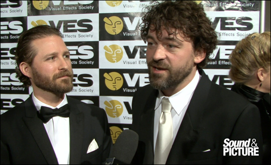 VES Awards 2012 - Alex Henning & Ben Grossman