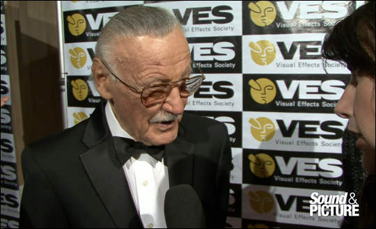 VES Awards 2012 - Stan Lee