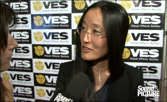 VES Awards 2012 - Jennifer Yuh Nelson